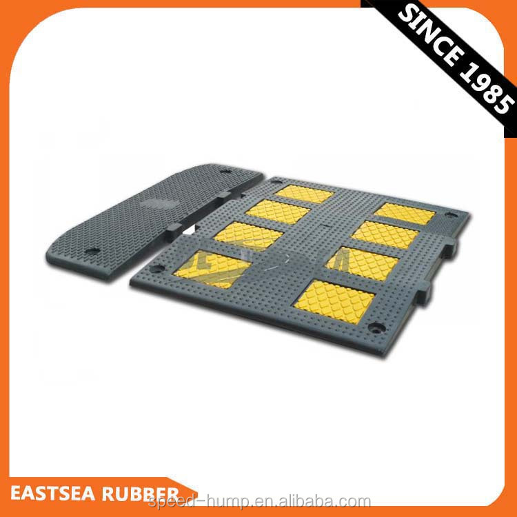 Wholesale Good Quality Durable Rubber Road Speed Bump