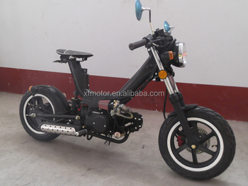 110cc/125cc Displacement 4 Stroke Gas moped motorcycle