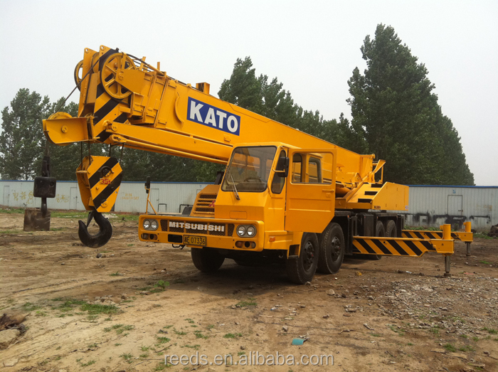 Nice price 35 ton Japan original Kato NK-350E mobile truck mounted crane