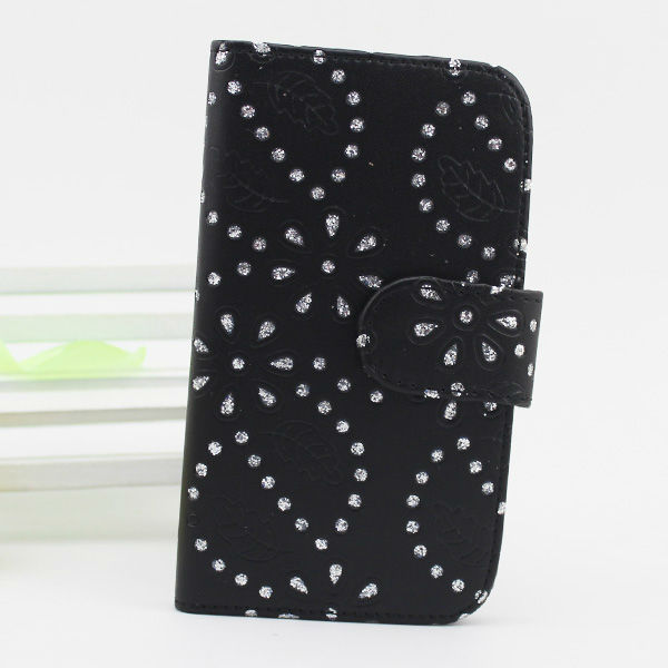 new product cell phone case for samsung c6712 leather cover