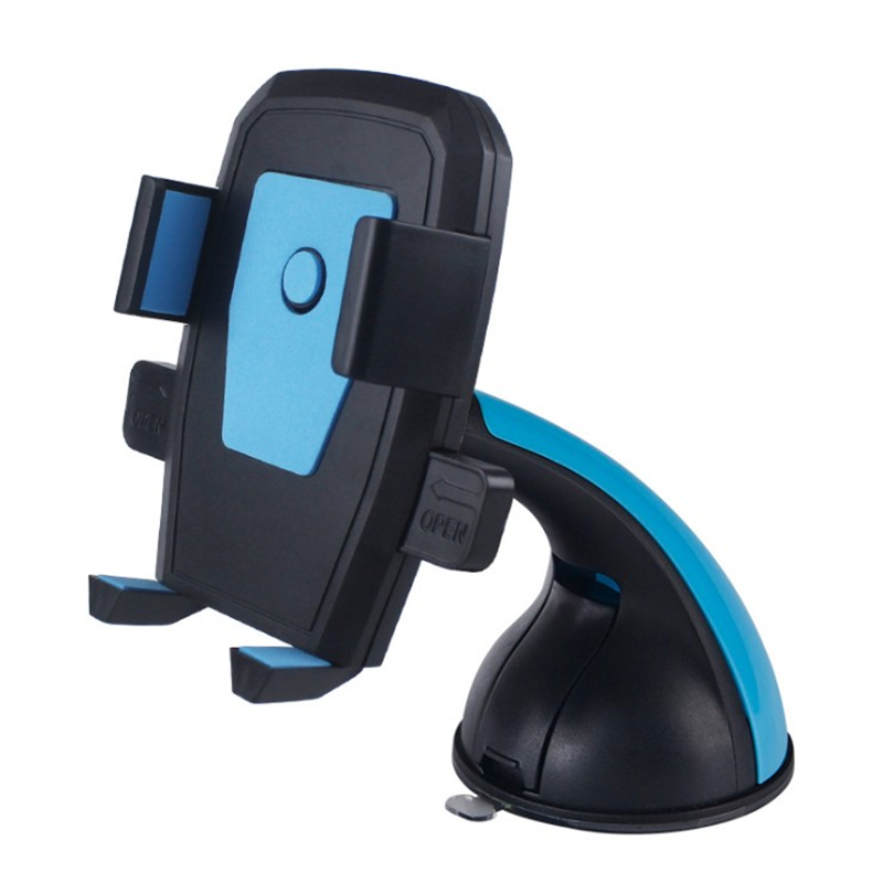 Wholesale long neck Silicone mobile phone holder Dashboard Stand Mobile Navigation Sucker Bracket Car Phone Holder