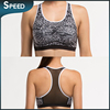 DHL free shipping Custom made breathable wholesale sports bra, women's sports bra with printed