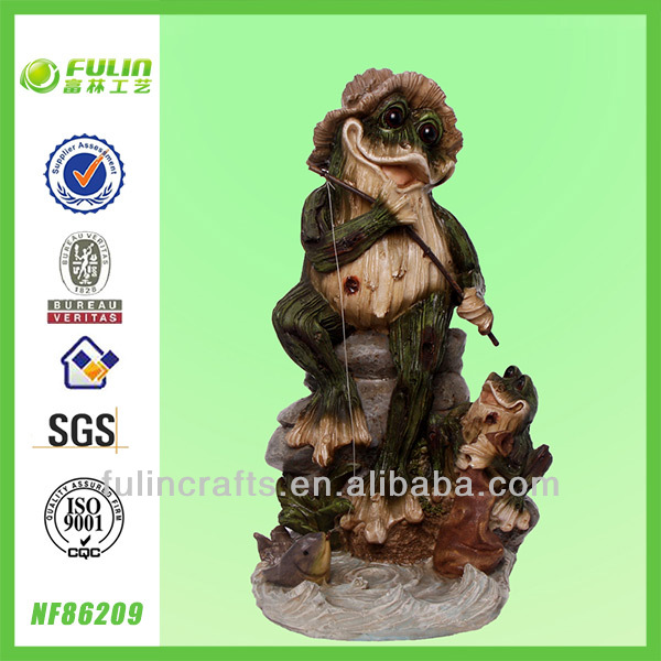 Animal Statues Garden Resin Frog