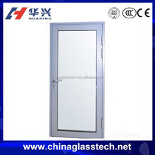 CE certificate Impact resistance aluminum alloy profile single leaf double swing door