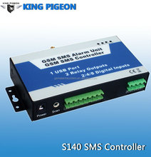 GSM SMS Alarm Unit with 4DIN 2DO, SMS Alarm Communicator