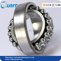 High Speed 25 x 62 x 17 mm Self-aligning Ball Bearing 2305 for Motorcycles