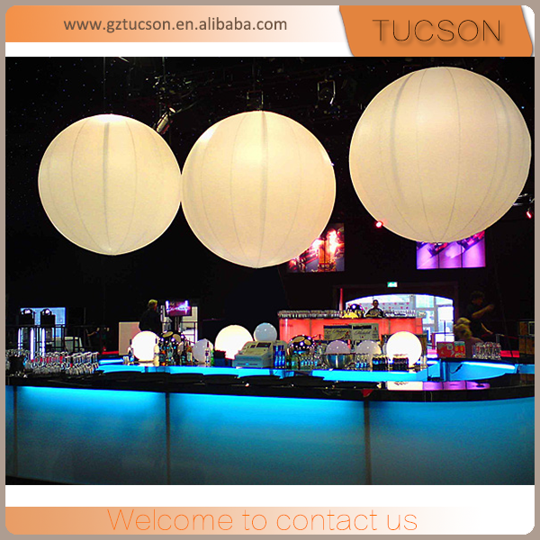 inflatable led zygote balls / hanging balloon/ helium balloon for decoration
