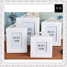 Special wholesale solid wood photo frame 3 inch 5 inch 6 inch 7 inch creative home wooden white swing studio photo frame