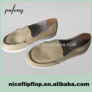 Low price wholesale women canvas shoe
