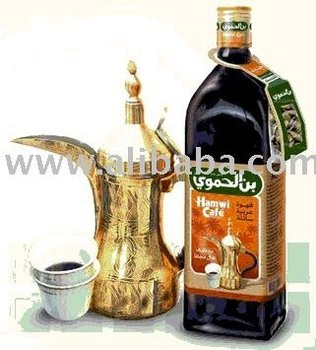 Hamwi cafe Arabic Liquid Coffee drinks