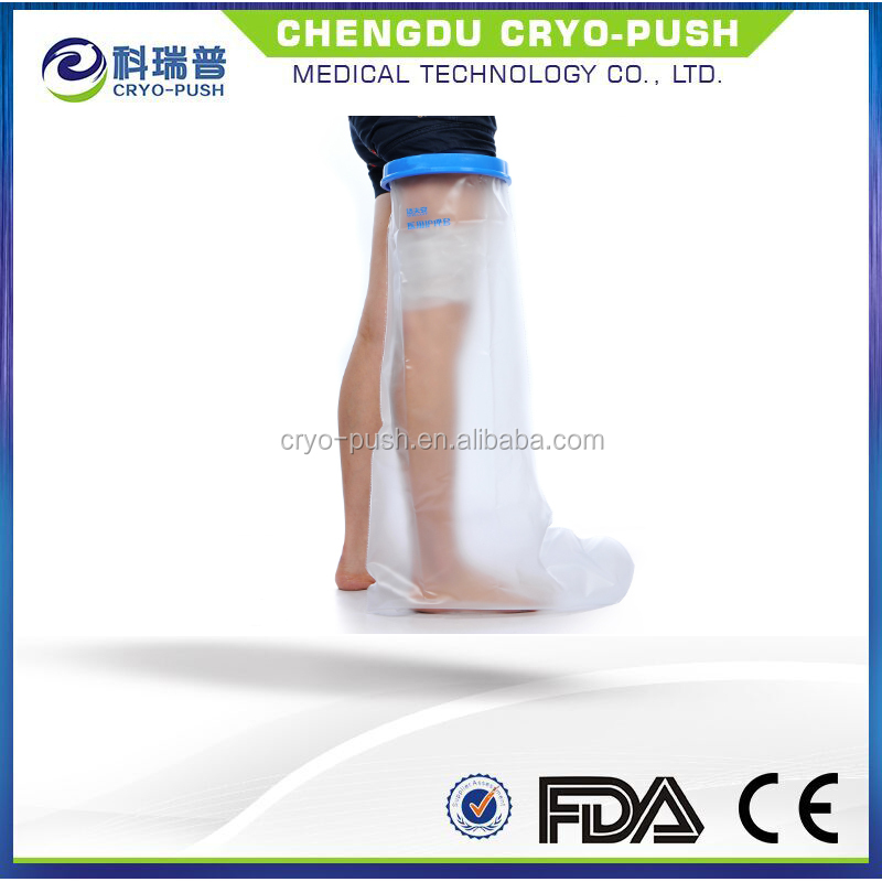 waterproof leg foot cast cover protector for shower cover