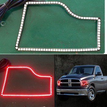 DC12V Colorchanging led angel eyes for Dodge Ram Daul 2009-2012