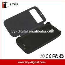 Galaxy S4 i9500 External (4500 mAh) Battery Power Pack Case With Flip Cover for Samsung Galaxy S4 i9500