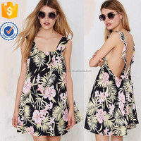 High quality with best price for women floral printed sexy shoulder strape dresses