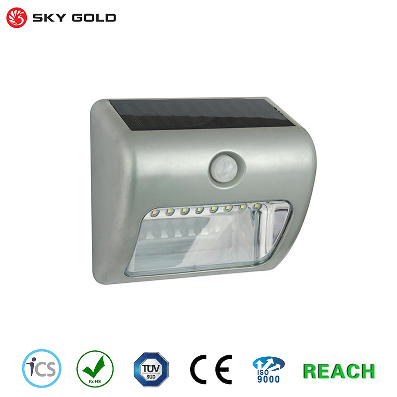 2017 New garden security gutter spot led flood light With Promotional Price