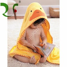 applique baby hooded towel