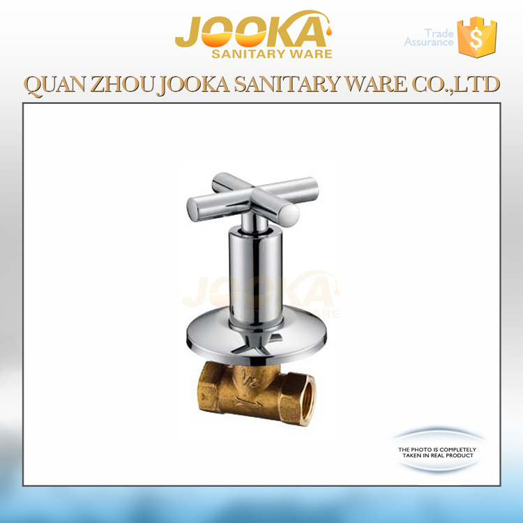 Cross handle brass concealed valve