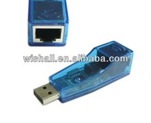 USB1.1 to RJ45 Ethernet 10/100 Mbps network Adapter lan card