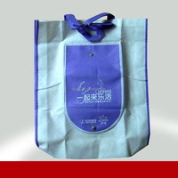 Promotional nonwoven folding carry bag foldable shopping bags