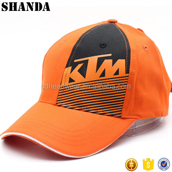 Cycling Racing Stripe Baseball Cap Motocycle Moter Race Baseball Cap