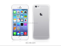 2014 new ultra thin transparent crystal clear PC case cover for iphone 6 plus