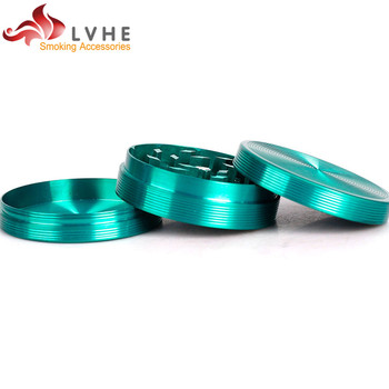 T071GZ LVHE 3 Layers 50MM Custom Herb Grinder Tabaco