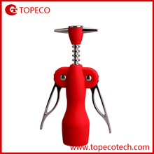 plastic cute winged wine corkscrew