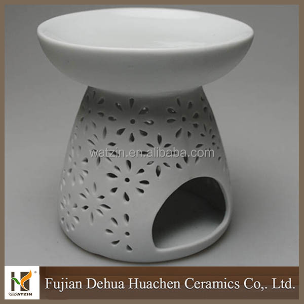 Great Decor White Ceramic Oil Burner