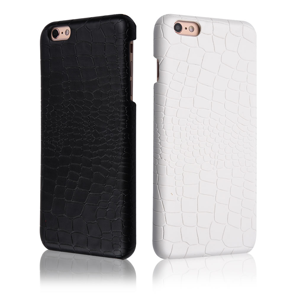 C&T Crocodile Skin Leather Protective Back Cover Shell Ultra Slim Case for Apple iPhone 6/6S Plus 5.5-inch