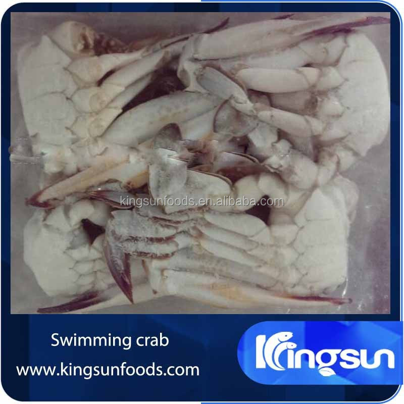 Frozen Blue Swimming Crab Cleaned