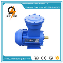 0.25kw 100% copper small explosion proof coil unit fan 3 phase motor