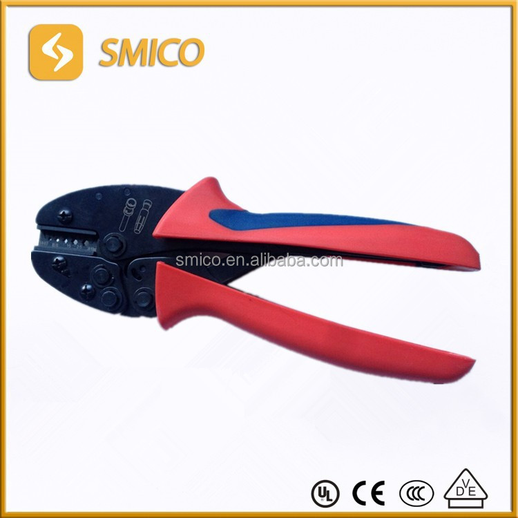 Wire Crimping tool for Connectors and Terminals, PV Cable Crimping Plier