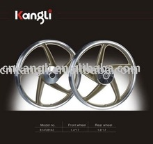 17 inch alloy motorcycle wheel