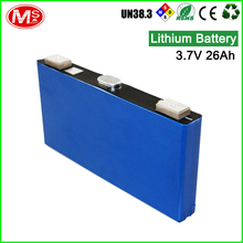 Cheap price rechargeable lithium ion battery 3.7V 26Ah Li ion Battery Cell