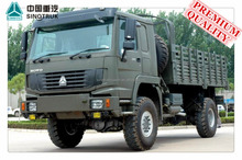 Best Selling SINOTRUK 4X4 All Wheels Military Vehicles