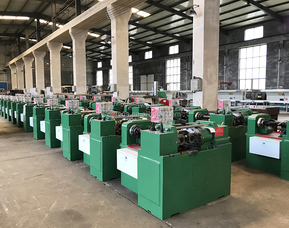 Automatic thread rolling machine rebar thread rolling machine two roller thread making machine