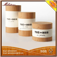 2015 Good Quality Custom Wooden Compartment Tea Storage Box/Caddy/Barrel/Canister/Cask for Tea, Coffee, Candy/Trinkets