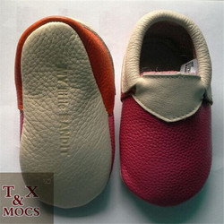 New fashion wholesale real leather baby shoes latest high heel ladies shoes