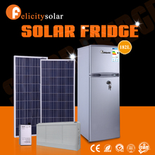 China cheap solar power double sided refrigerator for fruit