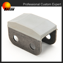 oem/custom made China factory molded rubber anti vibration piece, rubber metal insert, rubber anti-vibration