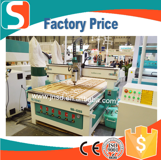wood panel saw machine vacuum table cnc router machine cnc router 1300*2500 ce approved cnc milling machine