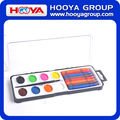 8colors Dry Painting Watercolor Paint with Crayon Paint Set
