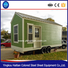 Manufacturer of credit guarantee ready made villa tiny houses mobile sheet metal trailer motorhome