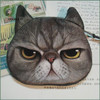 Custom Lovely Cat Dog Printing Pattern Zipper Coin Purse/Cartoon Animal Mini Wallet Novelty Design Children's Day Gift Cat Coin