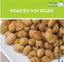 GMO FREE, Low Gluten, Roasted, Salted Soy Beans