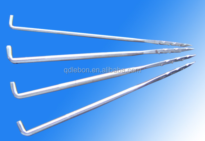 Nonwoven needles pin