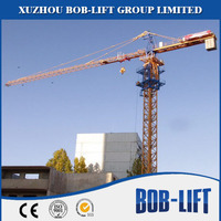 6t self erecting tower crane qtz100