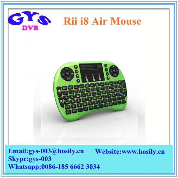 Best price and Top sell rii mini i8 fly mouse 2.4g wireless mini keyboard 92 keys mini bluetooth keyboard I8 air mouse
