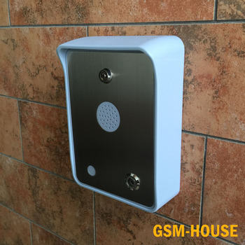 gsm door intercom audio intercom with access controller for villa ,house ,apartment gate opener