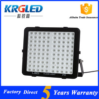 With long-life time ip65 led flood light 100w with MEANWELL driver heating radiators